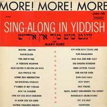 More Sing-Along in Yiddish