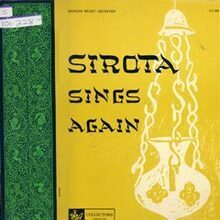 Sirota Sings Again