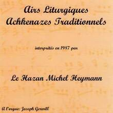 Airs Liturgiques Achkenazes Traditionnelles