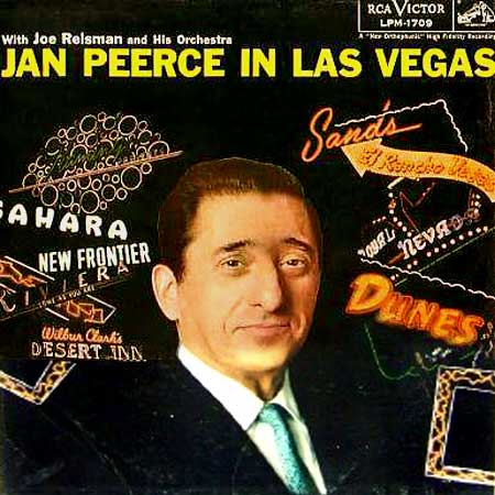 Jan Peerce in Las Vegas