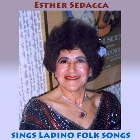 Esther Sedacca sings ladino folk songs