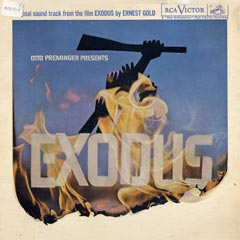Exodus, Original Soundtrack